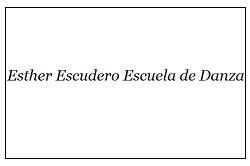 Esther Escudero Escuela de Danza Móstoles